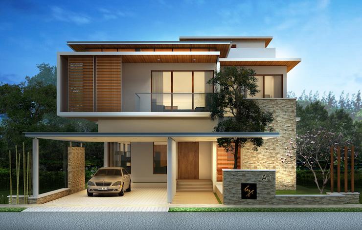 The luxury Villa